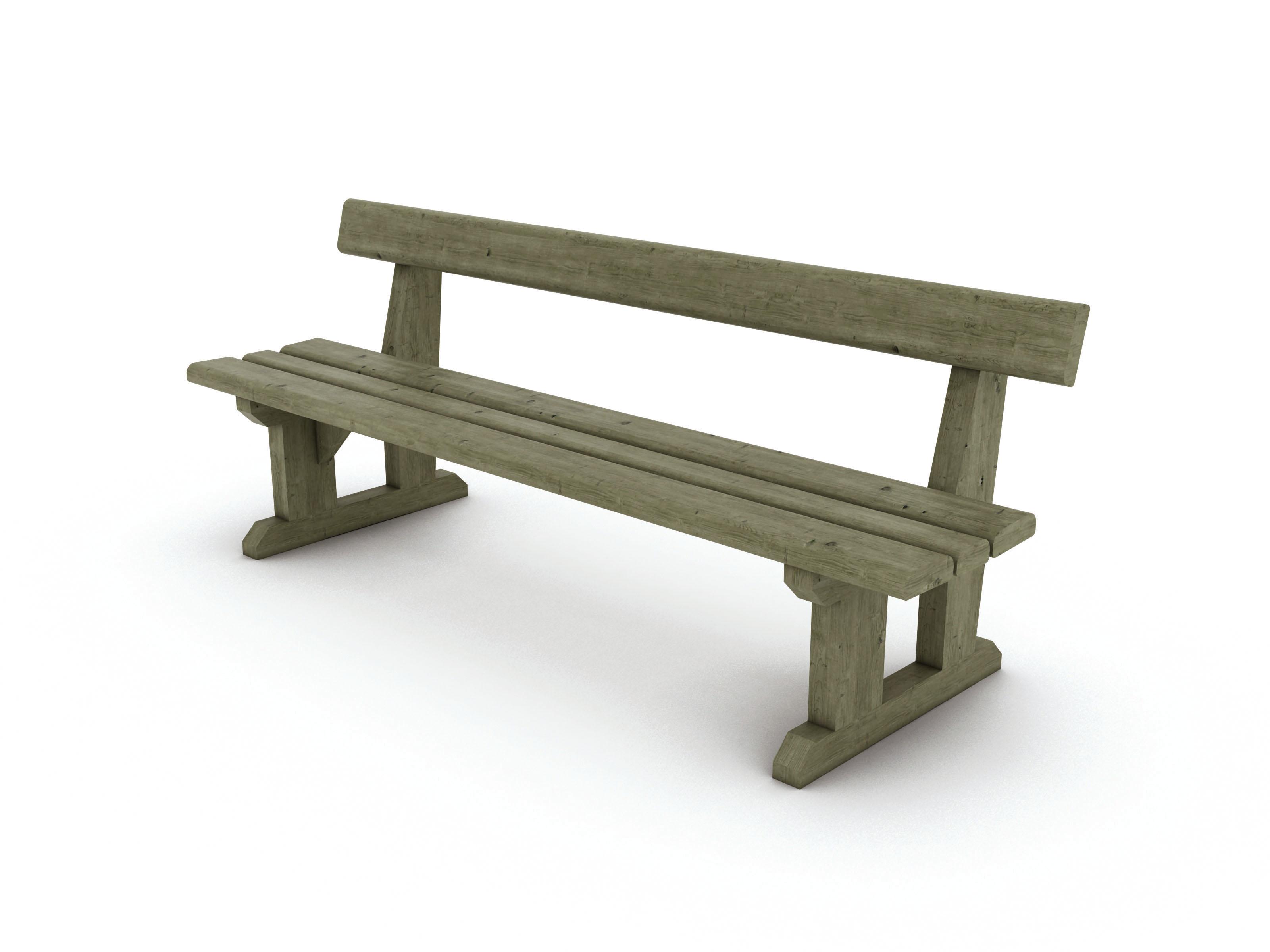 banc bois massif belle ile mobextan. Black Bedroom Furniture Sets. Home Design Ideas